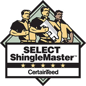 Select ShingleMaster CertainTeed Badge.